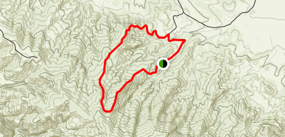 Selby Campground Loop Trail Map