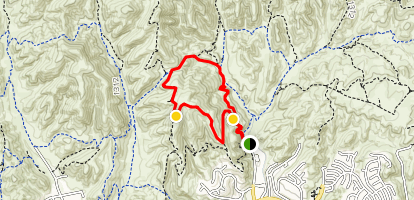 Las Virgenes Canyon Edge Map