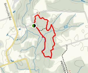 Stephen's Gulch Conservation Area Loop Map
