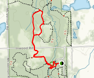 Habitat Trail to Inwood Loop Map