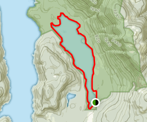 Inland Lake Loop Map