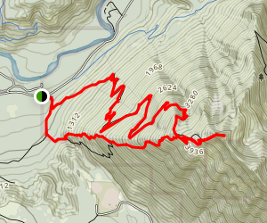 Mailbox Peak Trail Loop Map