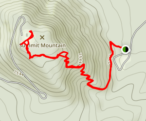 Summit Mountain Trail Map