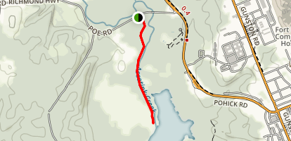 Accotink Creek Trail Map