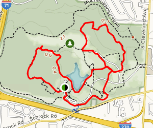 Sharon Woods Loop Map
