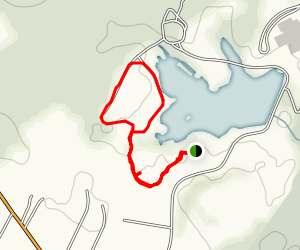 Silver Lake Loop Map