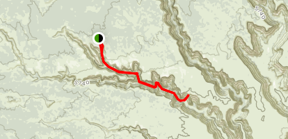 Owl Creek to Nevills Arch Trail Map