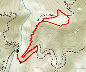 Luci's Trail Map