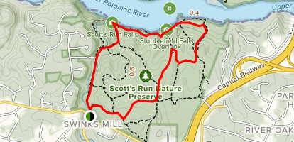 Woodland Trail to River Trail Loop Map