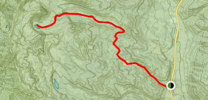 Bunchgrass Creek to White Pine Creek Map
