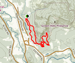 Green Hills Preserve Loop Map