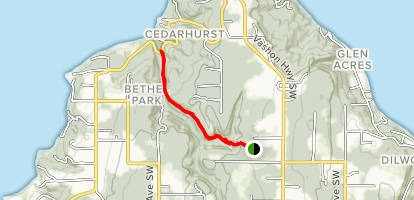 Shinglemill Creek Map