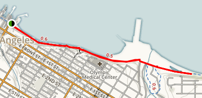 Port Angeles Waterfront Map
