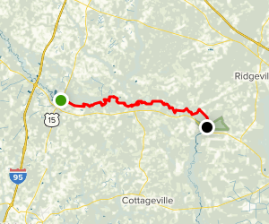 Edisto River Map