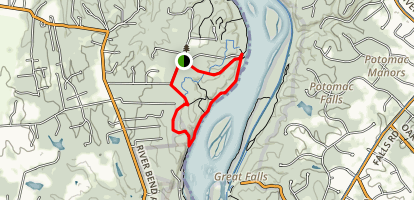 Bootlegger, Potomac Heritage and Madison's Escape Trail Loop Map