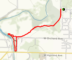 Oxbow Trail Map
