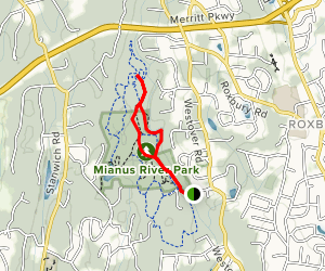 Pine Hill Road and Meander Trail Loop Map