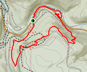 Canyon Vista Trail Map