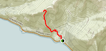 Rainbow Peak Trail Map