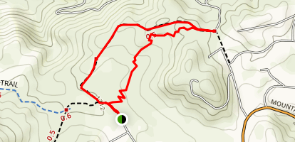 Crestridge Ecological Reserve Trail Map