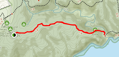 Deep Creek Cove Map