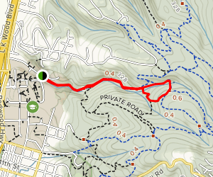 Jolly Giant Trail Loop Map