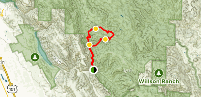 Coyote Creek Loop Trail Map