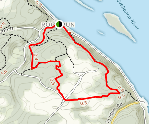 Susquehanna State Park Loop Map