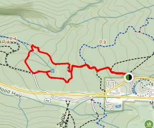 Government Camp to Enid Lake Loop via Maggie's Tie Map