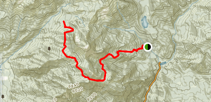 Box Elder Trail Map