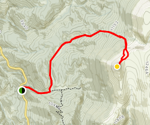 Sentinel Point via Horsethief to Devils Playground Trail Map