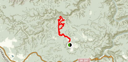 Jack Ridge Loop Map