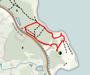 Seacoast Science Center and Founder's Monument Map