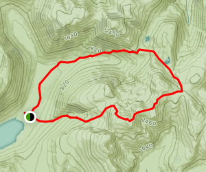 Scafell Pike, Great End, and Broad Crag Map