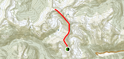 Mount Nystrom Trail Map