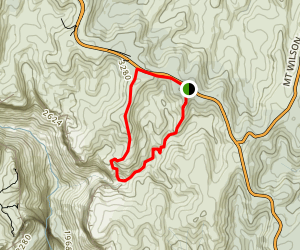Birranbang Canyon Track Map