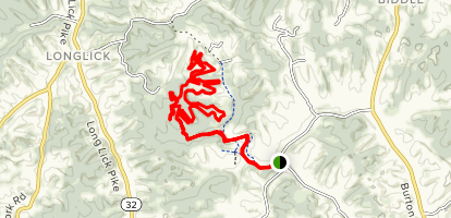 Skull Buster Trail Map
