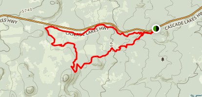 Funner and Tiddlywinks Loop Map