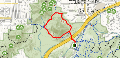 Charles M Christiansen Northern Loop Map