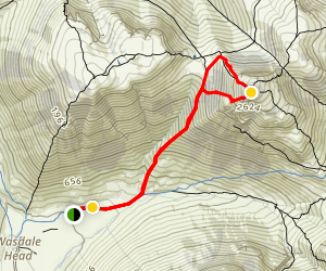 Great Gable Trail Map