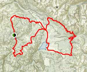 Lilly Pond, Timber Line, Doctor Park Map