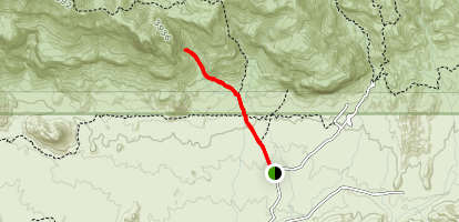 Wave Cave Trail Map
