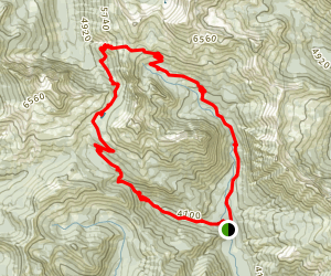 Esmeralda Basin Loop Trail Map