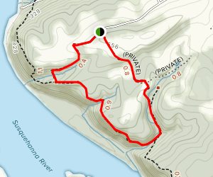 Reed's Run Nature Trail Map