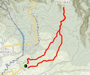 Zurqui Trail Map