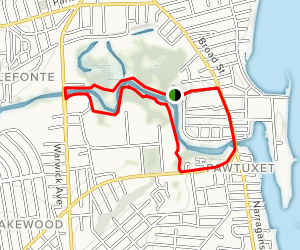 Pawtuxet River Trail  Map