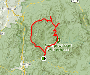 Pemi Loop and Zealand, North Twin Map