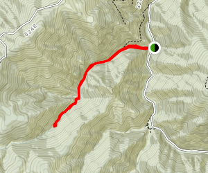 Pulaski Tunnel Trail Map