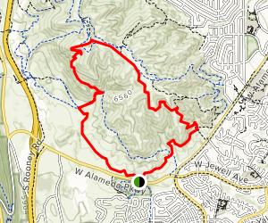 Green Mountain, Hayden Trail, and Rooney Valley Trail Map
