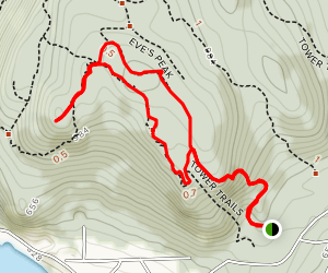 Gallagher Hill Trail Map